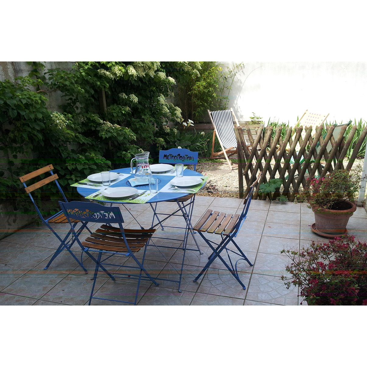 la rochelle maison jardin ancv wifi linge compris stationnement facile gratuit 4p b b. Black Bedroom Furniture Sets. Home Design Ideas