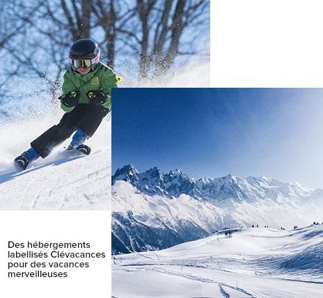 En famille au ski