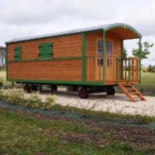 Caravan in Haute Saintonge in Charente Maritime