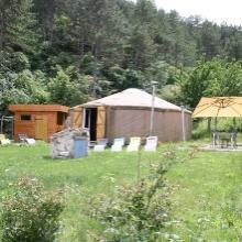 Yourte mongole à Rives en Isère