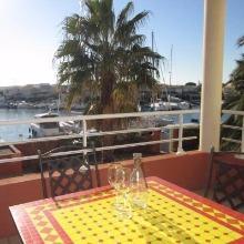 Appartement avec vue sur le port au Cap d'Agde