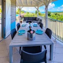 Villa avec piscine près de la mer en Martinique