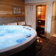 Chalet avec sauna et jacuzzi dans les Vosges