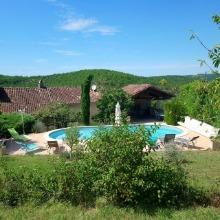 Villa avec piscine au calme pour vacances en Occitanie