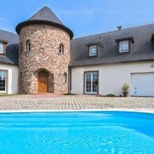 Le Domaine du Castel avec piscine et spa en Alsace