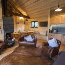 Lodge au coeur du parc animalier, dans les Vosges mosellanes