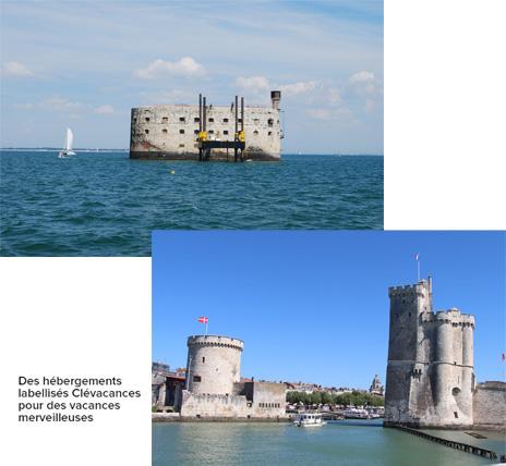 Fort boyard, La Rochelle, près de l'Ile d'Oléron