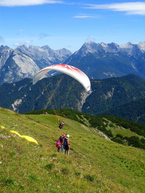 Activités aériennes dans les Pyrénées
