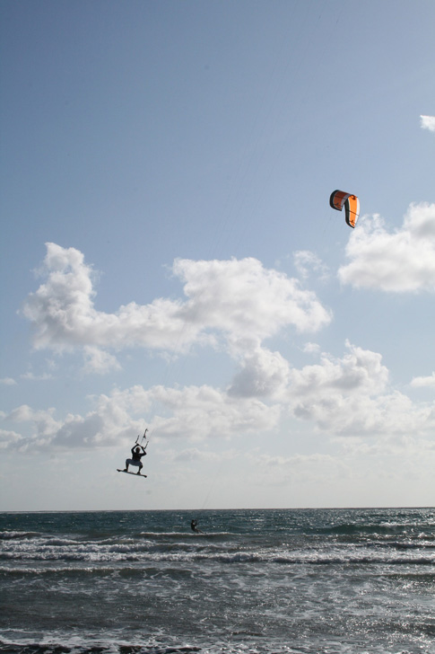 Kitesurf au cap d'Agde