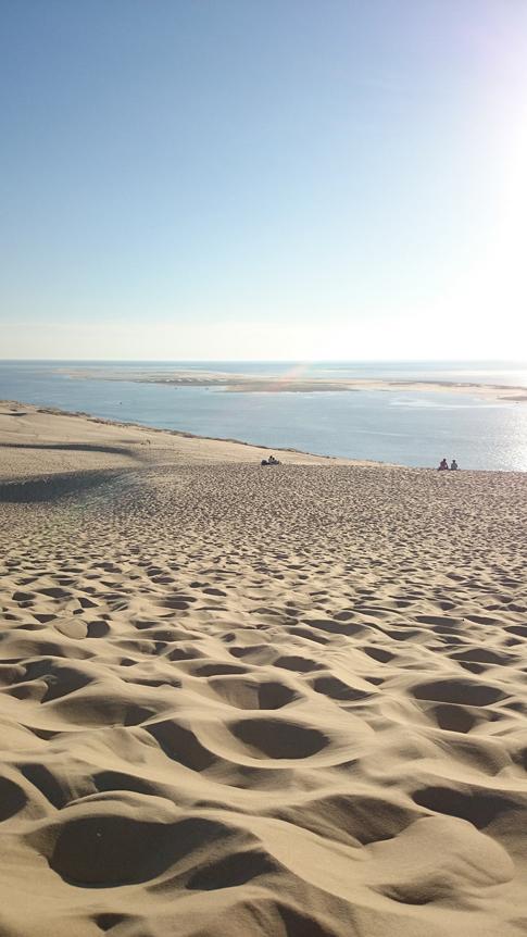 Plage bord de mer à Arcachon